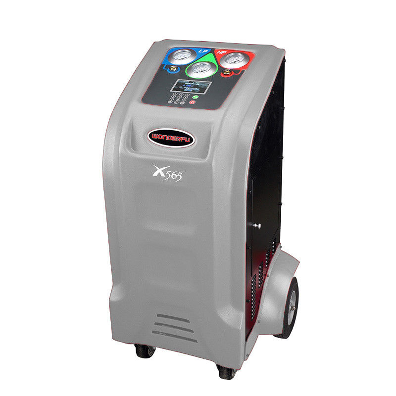 2 In 1 R134a Air Conditioning Recovery Machine Big Colorful LCD Screen